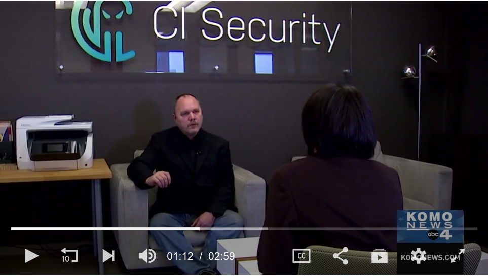 CTO Mike Simon Covers How to Secure Home IoT from Hackers with KOMO News Seattle.