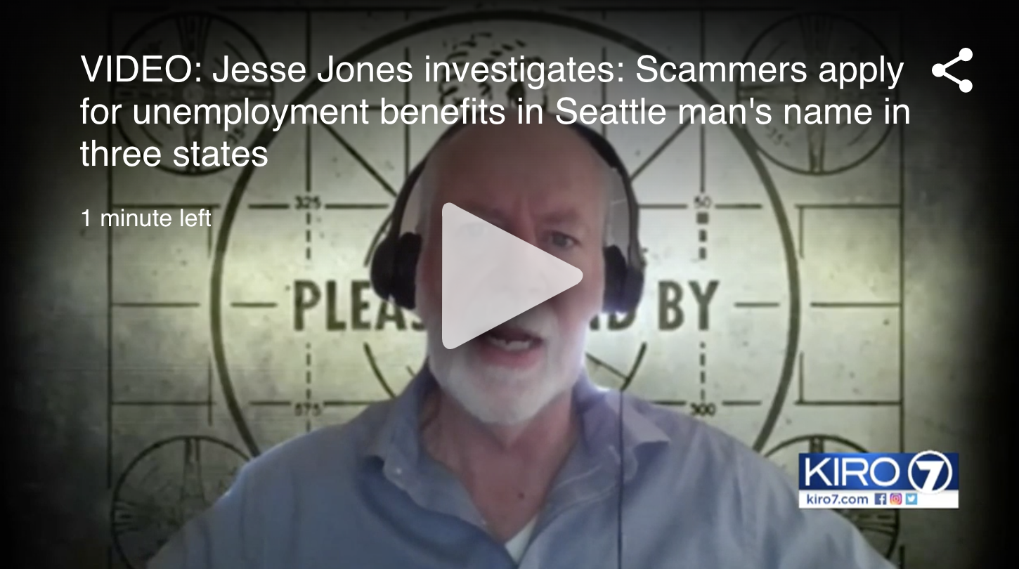 Mike Hamilton on Jesse Jones Investigating recent cyber criminals posing as citizens to collect unemployment insurance