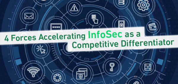 4 Forces Accelerating InfoSec as a Competitive Differentiator